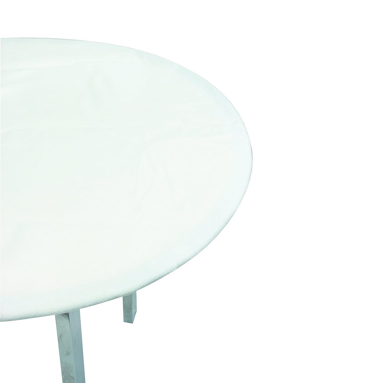 Olibo 106090 muletón salvatavolo Blanco diámetro Redondo, 140 cm ...