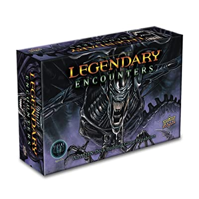 Upper Deck Legendary Encounters: an Alien Expansion Game: Toys & Games