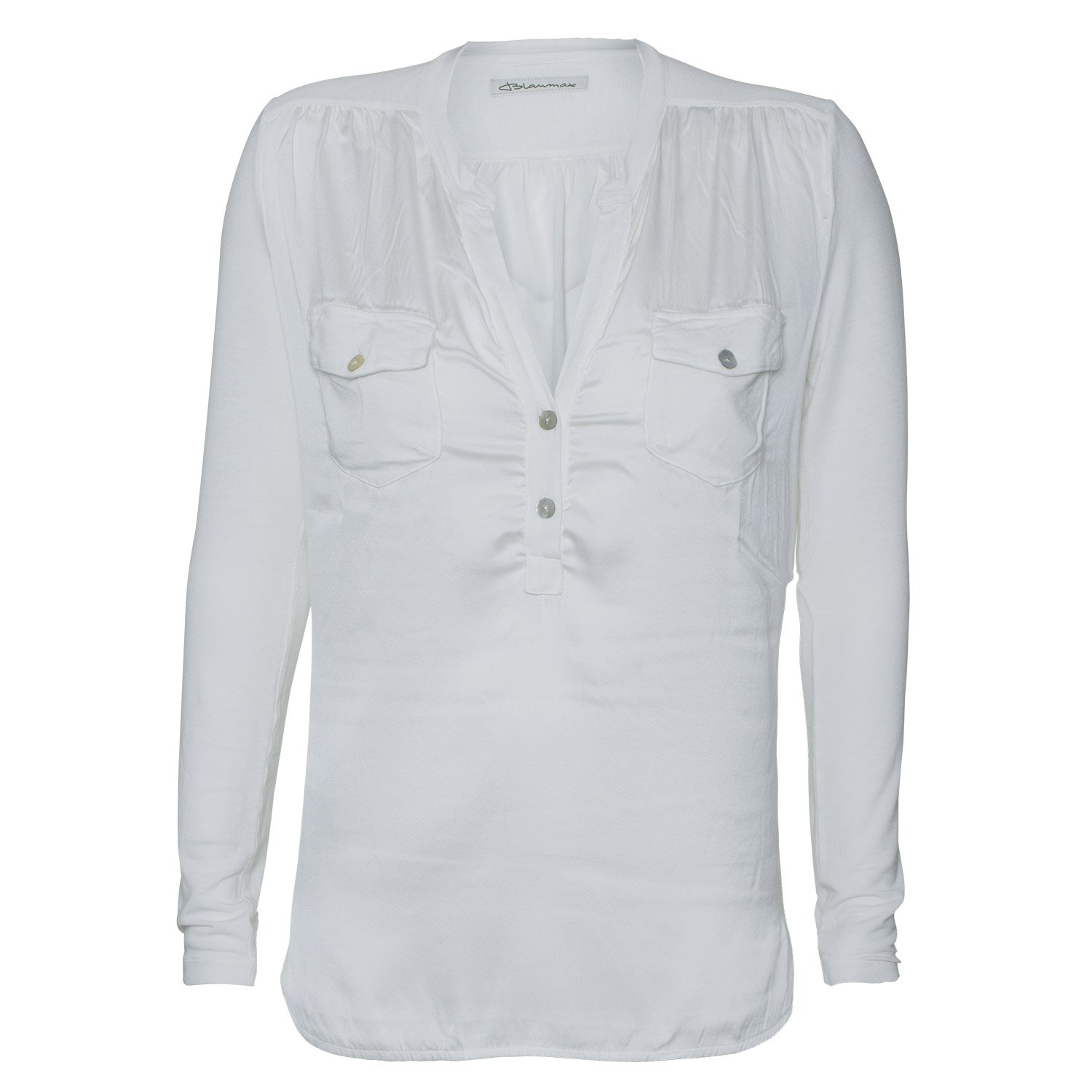 "'""Salma?-?Women's Blouse Blue Max?-?Off-White"