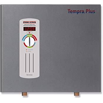 stiebel eltron tempra plus 29 kw tankless electric water heater with self modulating power technology advanced flow control