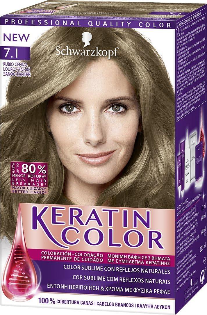 Schwarzkopf Keratin Color Coloración Permanente Para El ...