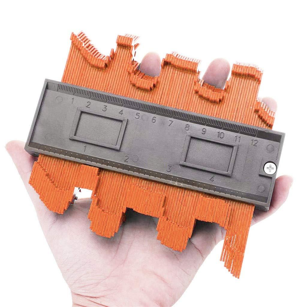 Sunsee 4 Inch//120 Mm Plastic Contour Copy Duplicator Circular Frame Profile Gauge Tool