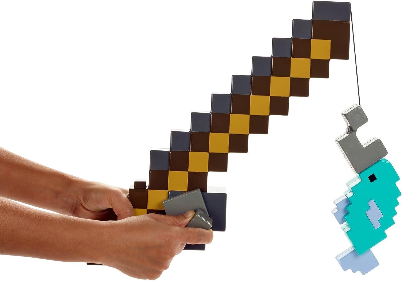 Minecraft Role Play Fishing Pole Playset: Amazon.co.uk: Toys & Games