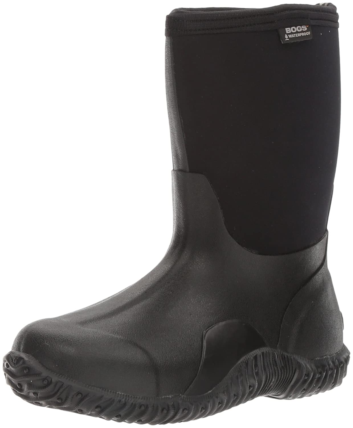 Bogs Women's Classic Mid Waterproof Rain Boot B000THBBRK 8 B(M) US|Black