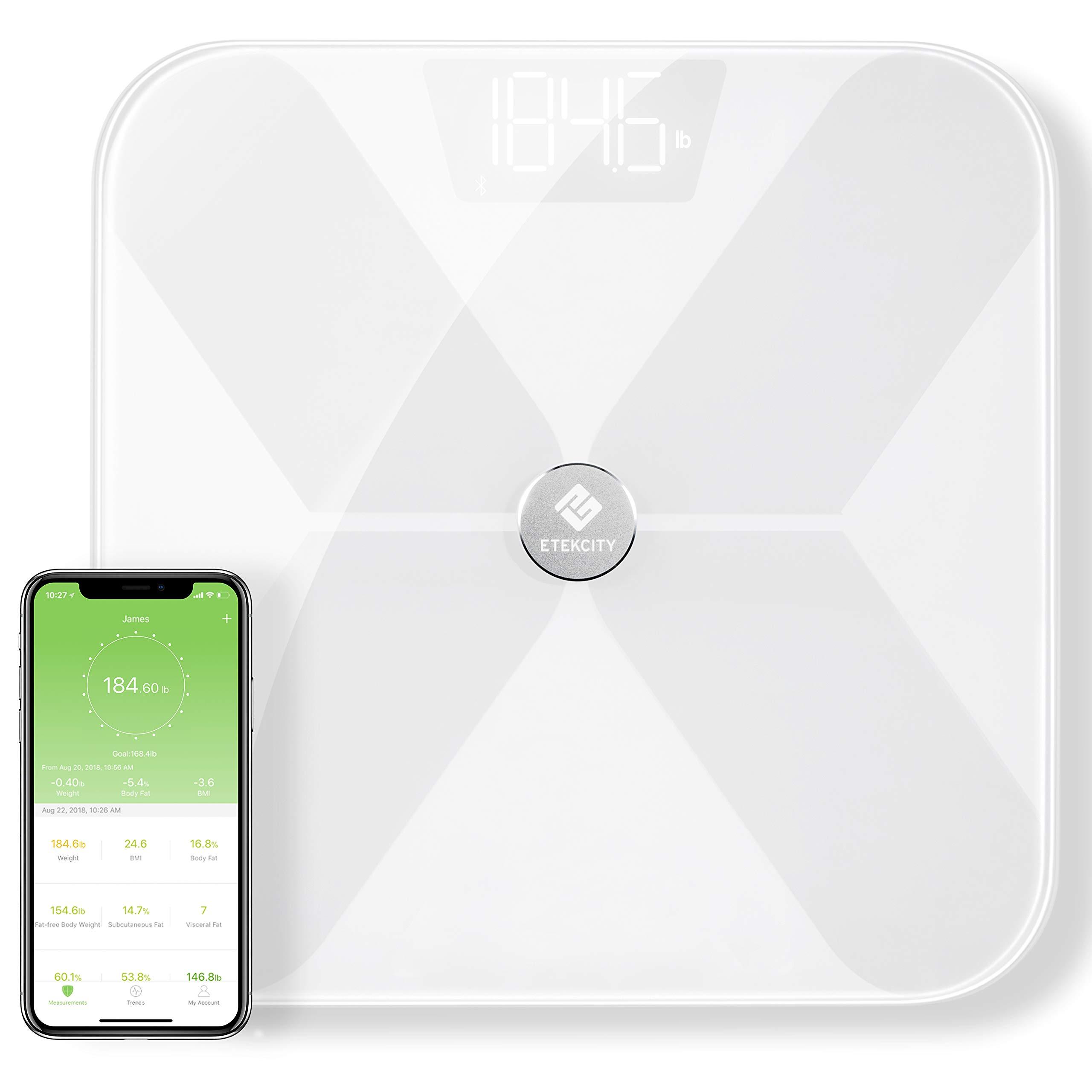 Etekcity Smart Bluetooth Body Fat Scale Digital Wireless Bmi Weight
