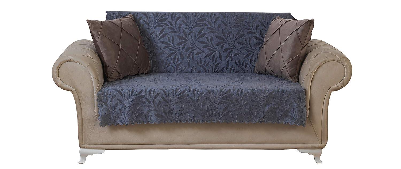 Amazoncom Chiara Rose Acacia Loveseat Slipcover 2 Seat Sofa Cover