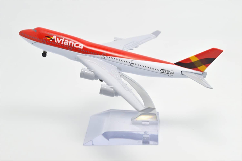 TM 1:400 16cm Boeing B747-400 Avianca Airline Metal Airplane Model Plane Toy Plane Model Tang-Dynasty