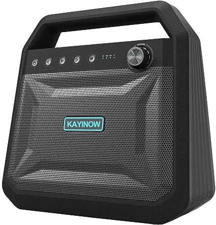 Party Loud Bluetooth Speaker Wireless w/Deep Bass - Portable Dual [Woofer,  Tweeter, Power Diaphragm] Stereo Speaker, 10W 10H Playtime Big Outdoor