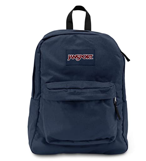 1719f9d3b544 Amazon.com  Jansport Superbreak Backpack (Navy)  Sports   Outdoors
