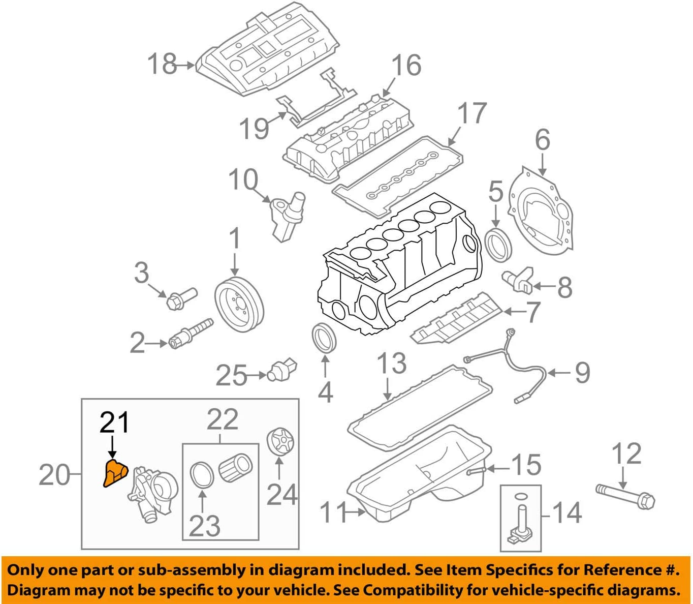 BMW 11-42-8-637-820GASKET#2 On Picture