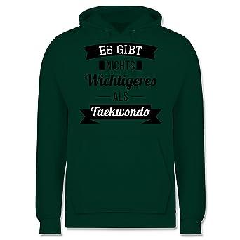 Kampfsport - Es gibt nichts Wichtigeres als Taekwondo - Herren Hoodie:  Shirtracer: Amazon.de: Bekleidung