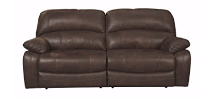 Ashley Furniture Signature Design - Zavier Power Reclining Sofa -  Contemporary Recliner Seating - Truffle
