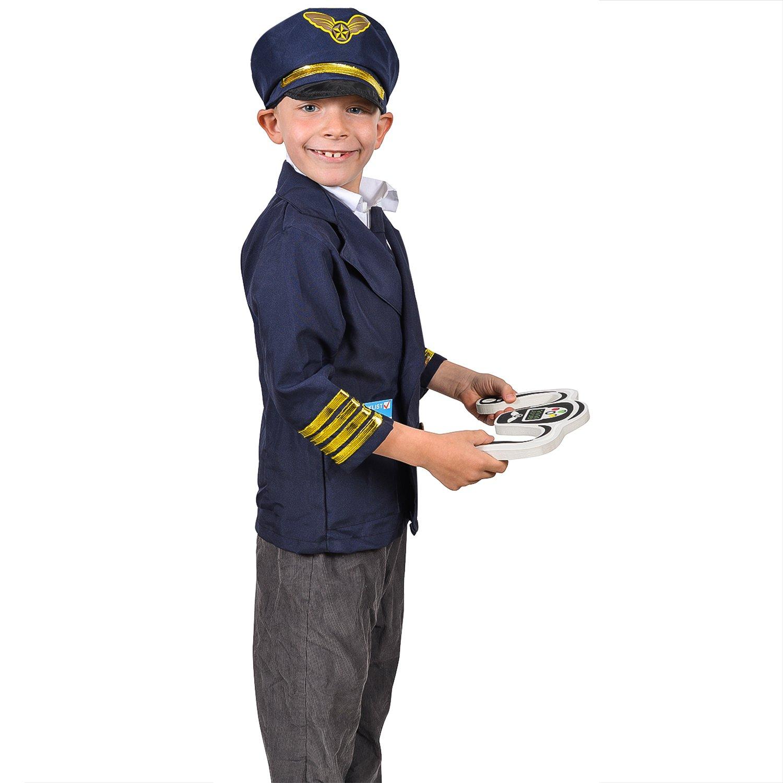 Amazon.com: Tigerdoe disfraz de piloto para niños, disfraz ...
