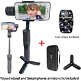 Feiyu Tech Vimble 2 Extendable Handheld 3-Axis Gimbal Stabilizer for Smartphone i+(Tripod Stand and Smartphone armbrand)