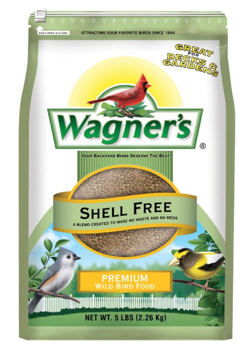 amazon com wagner u0027s 62056 shell free blend 5 pound bag wild
