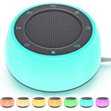Jack & Rose White Noise Machine for Sleeping Baby Adults Kids, Sound Machine with Night Light, 16 Soothing Sounds for Sleepin