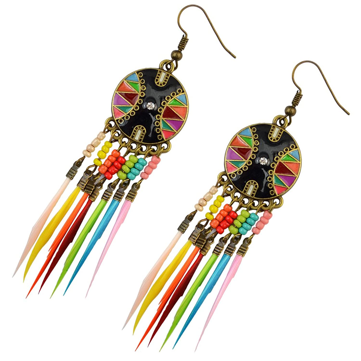 Fashion European Feather Earring Earrings Image 2