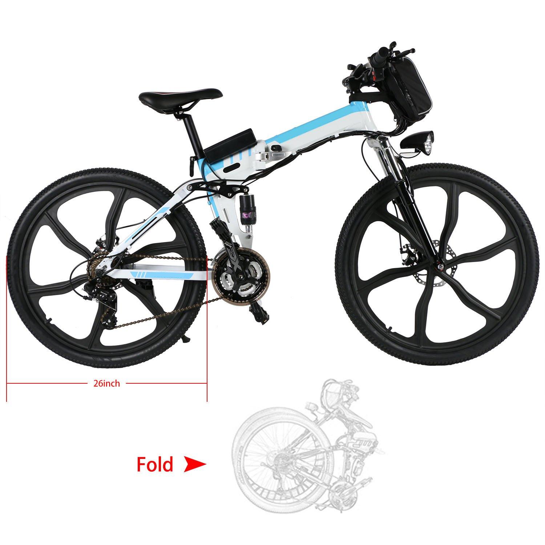 E-Bike Mountainbike E-Mtb Fully 26 Zoll Elektrofahrräder Fahrrad ...