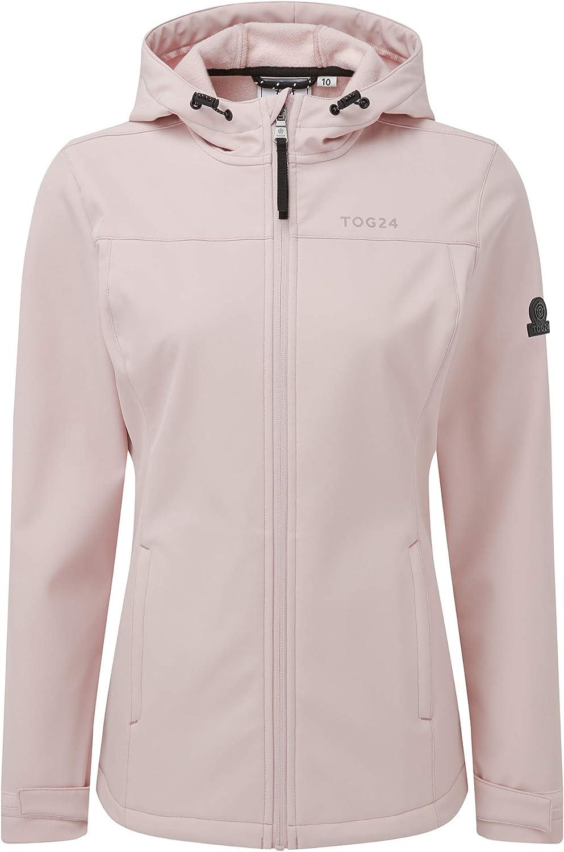 TOG 24 Keld Womens Softshell Hooded Jacket Rose Pink