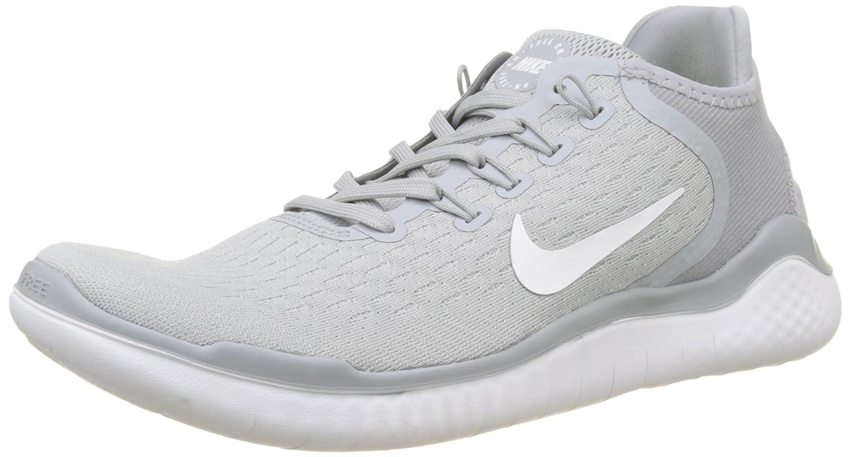 NIKE Men's Free Rn 2018 Running Shoe B072KFQLXQ 7.5 D(M) US|Wolf Grey/White/Volt