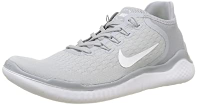 new concept d4249 e24da Nike Men s Free Rn 2018 Running Shoes, (Wolf Grey White Volt 003)