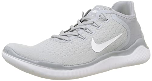NIKE Mens Free RN 2018 Running Shoes, (Wolf Grey WhiteVolt 003)