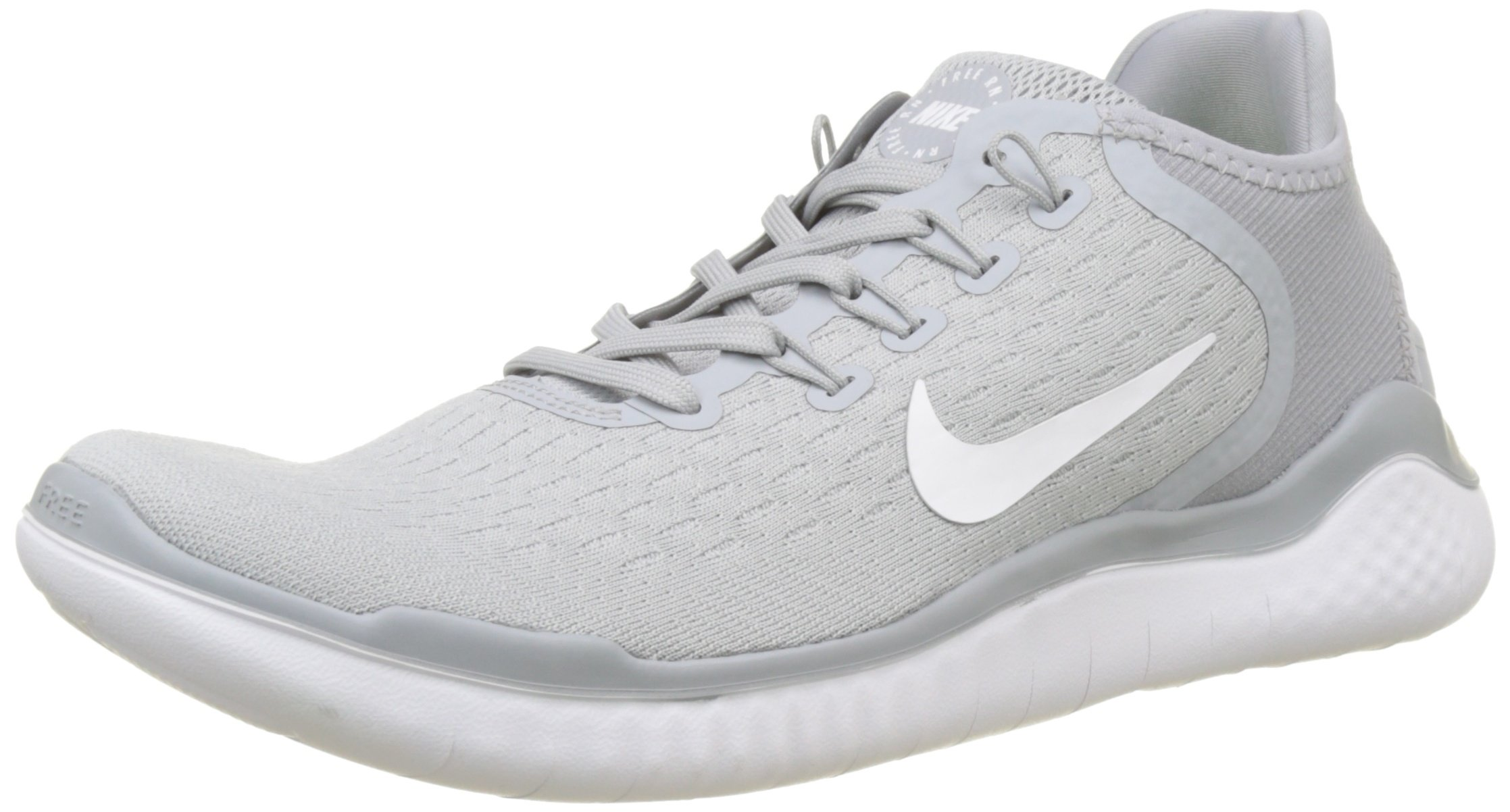 60d05c69332 Galleon - NIKE Mens Free Run 2018 Runing Shoes Wolf Grey White Volt 942836-003  Size 6.5