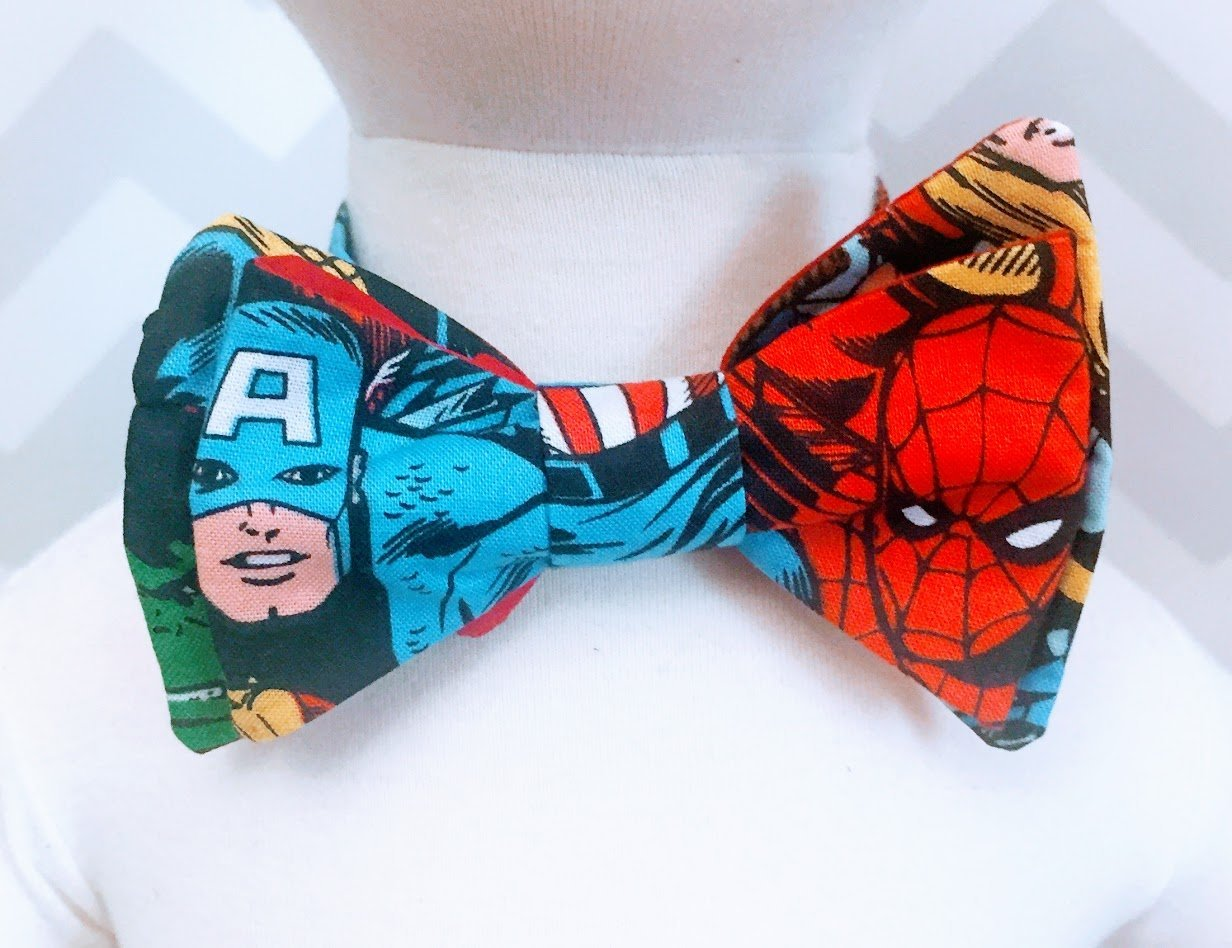 Marvel Super Hero Bow Tie For Infants and Toddlers