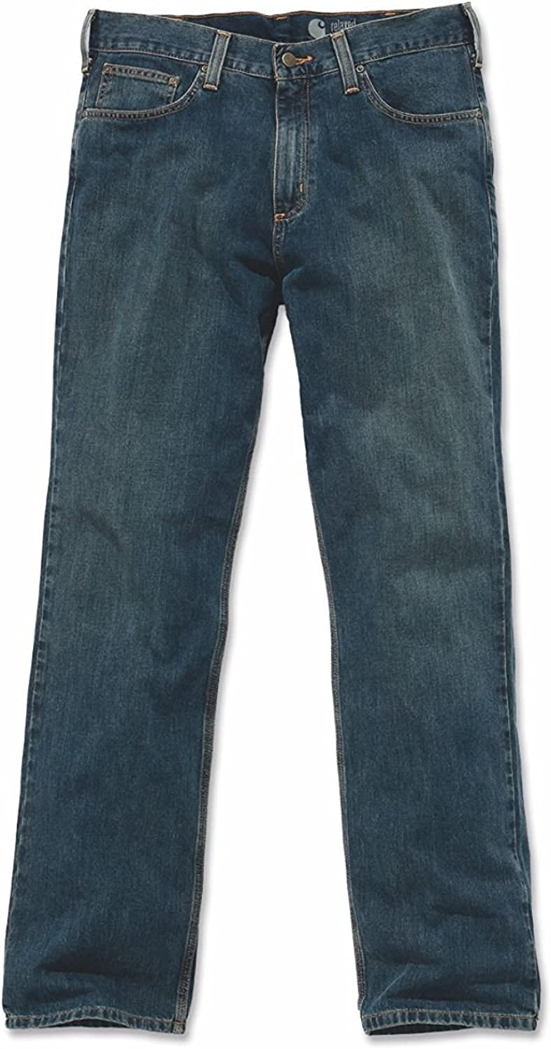 Carhartt–Vaquero–Relaxed–Hombre Weathered Blue