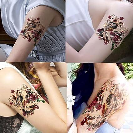 Deardeer Temporal Tatuaje Sexy Tatuaje Belleza Diseño Cuerpo Arte De