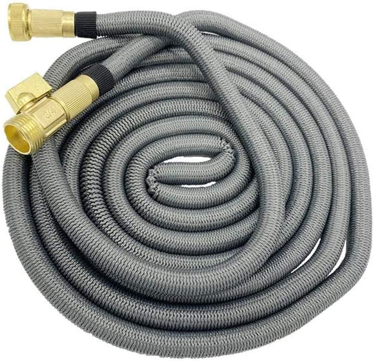 DXQDXQ Hosepipes Garden Hose Expandable 7.5~45M Flexible Hose Heavy Duty Leakproof Hose High-Pressure without Spray Sprinkler No Kink No-Kink (Color : 15M) 37m