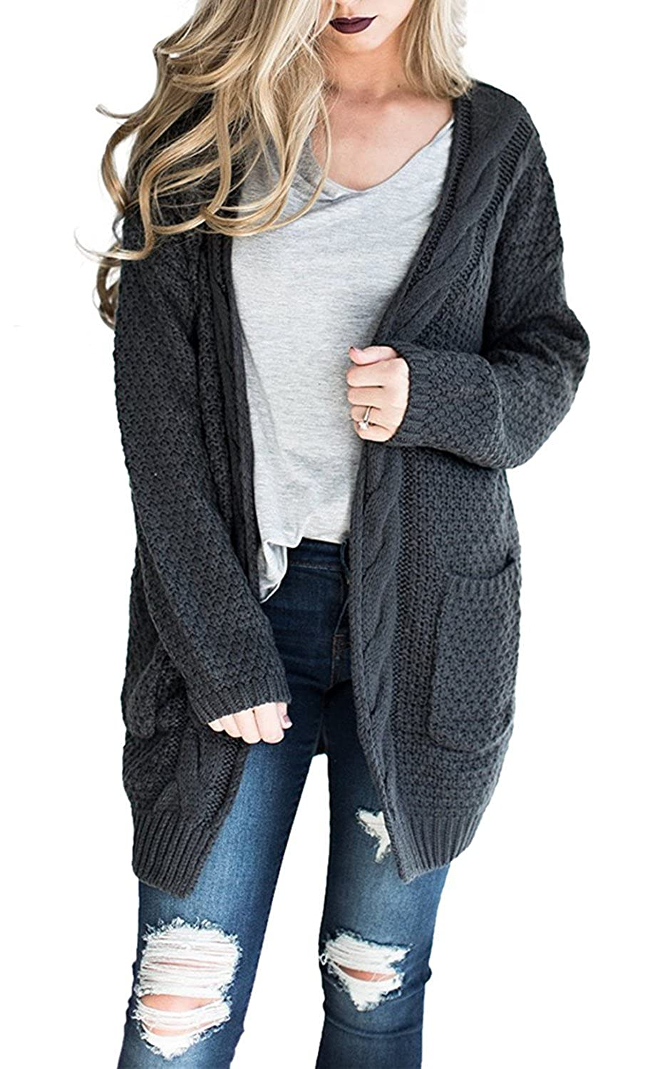 69d796b2508 Top 10 wholesale Long Cable Knit Cardigan Sweater - Chinabrands.com