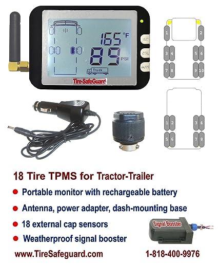 Amazon Com 18 Tire Tractor Trailer Cap Sensor Tire Pressure