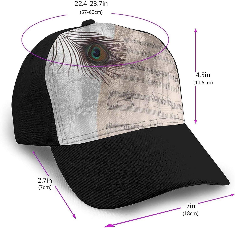 Blmcsk The Velvet Underground Fashion Print Retro Cowboy Hat Unisex Baseball Cap