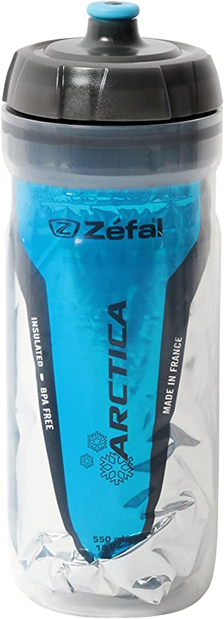 ZEFAL Arctica 55 Bidón, Unisex Adulto, Azul, 550 ml: Amazon.es ...