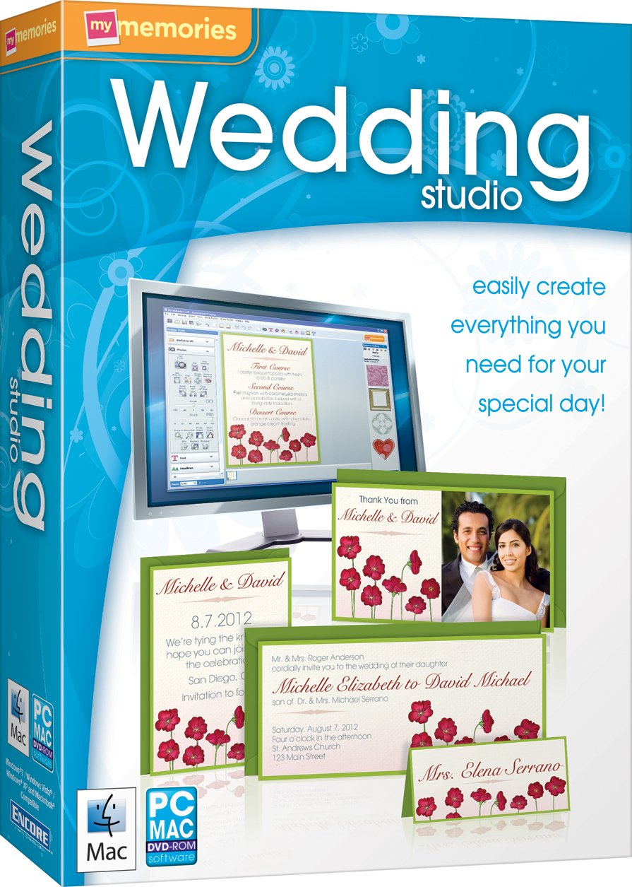 Amazoncom MyMemories Wedding Studio SB Software