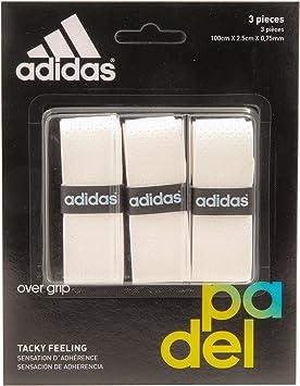adidas Pádel OV - Set overgrip, Color Blanco, Talla única: Amazon ...