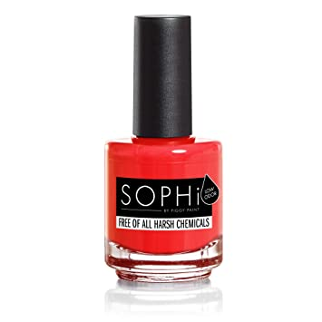 Amazon Com Sophi Nail Polish Pop Arazzi Non Toxic Safe Free Of