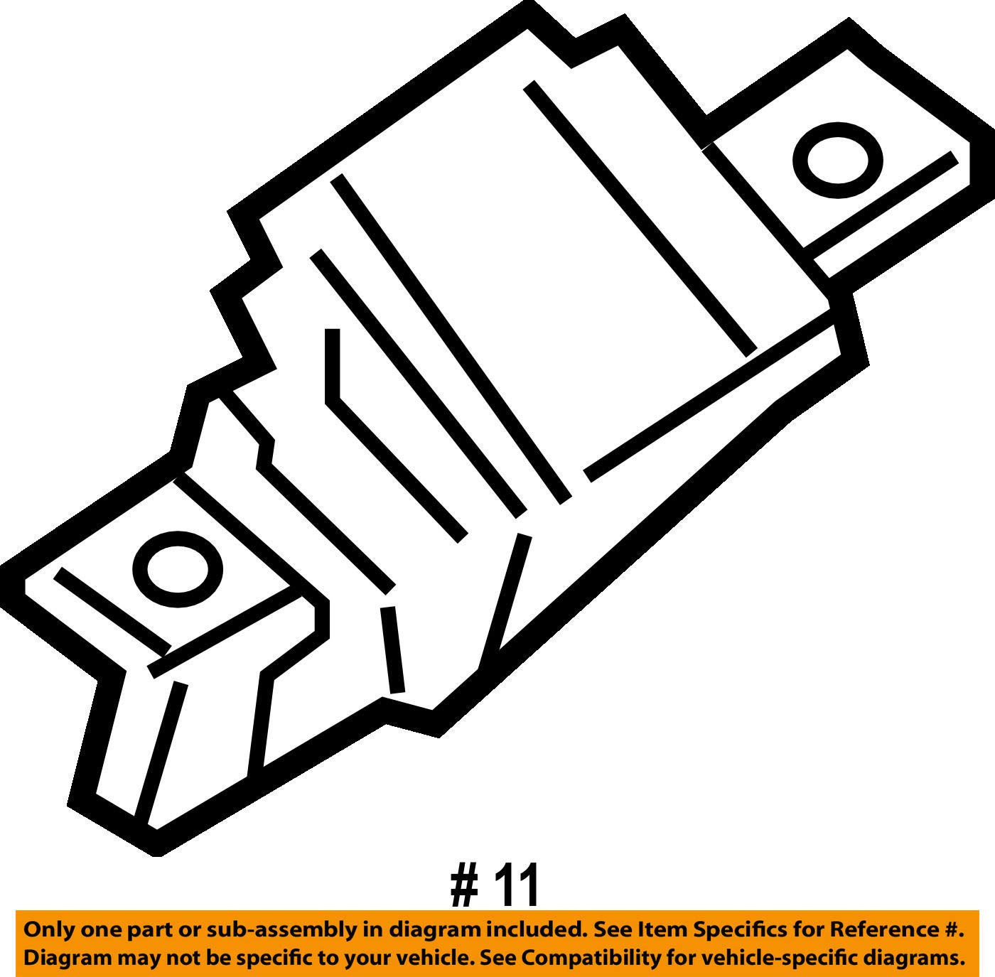 BMW 51-24-7-304-559 Trunk Lid Lock by BMW (Image #2)