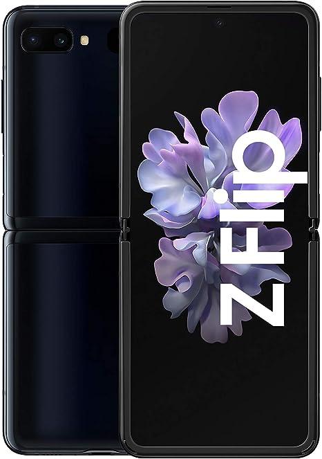 Samsung Galaxy Z Flip 17 03 Cm 256 Gb Internal Memory 8 Gb Ram Dual Sim German Version Mirror Black Elektronik