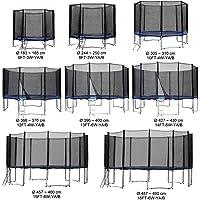 Baunsal GmbH & Co.KG Gartentrampolin Kindertrampolin Trampolin in vielen Größen und Farben komplettes Set mit Sicherheitsnetz und Einstiegsleiter