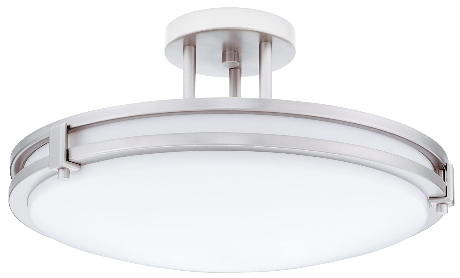 Amazon lithonia lighting 11752 bn m4 saturn round 2 light amazon lithonia lighting 11752 bn m4 saturn round 2 light energy star 16 inch semi flush light brushed nickel home improvement arubaitofo Image collections