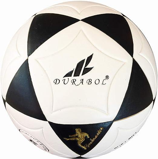 Durabol Balón de fútbol football talla 5 Color Blanco Azul Marino ...