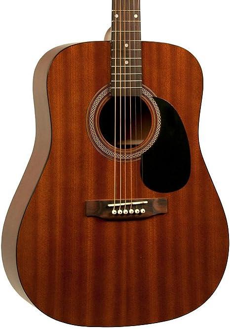 Rogue Rogue ra-090 Dreadnought Guitarra Acústica madera de caoba ...