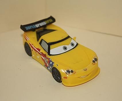 Amazon Com Disney Pixar Cars 2 World Grand Prix Jeff Gorvette 3