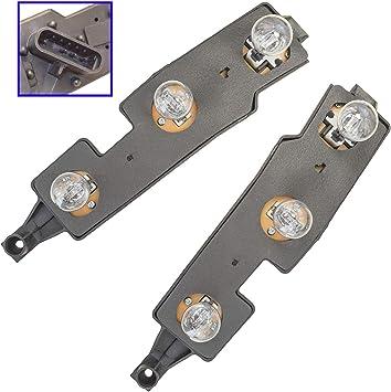 Amazon Com Taillight Taillamp Brake Light Circuit Board Lh Rh Pair Set For Chevy Truck Automotive