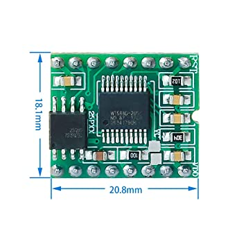 Topsame 1Pcs WT588D-16p 8M Voice Sound Modue Audio Player