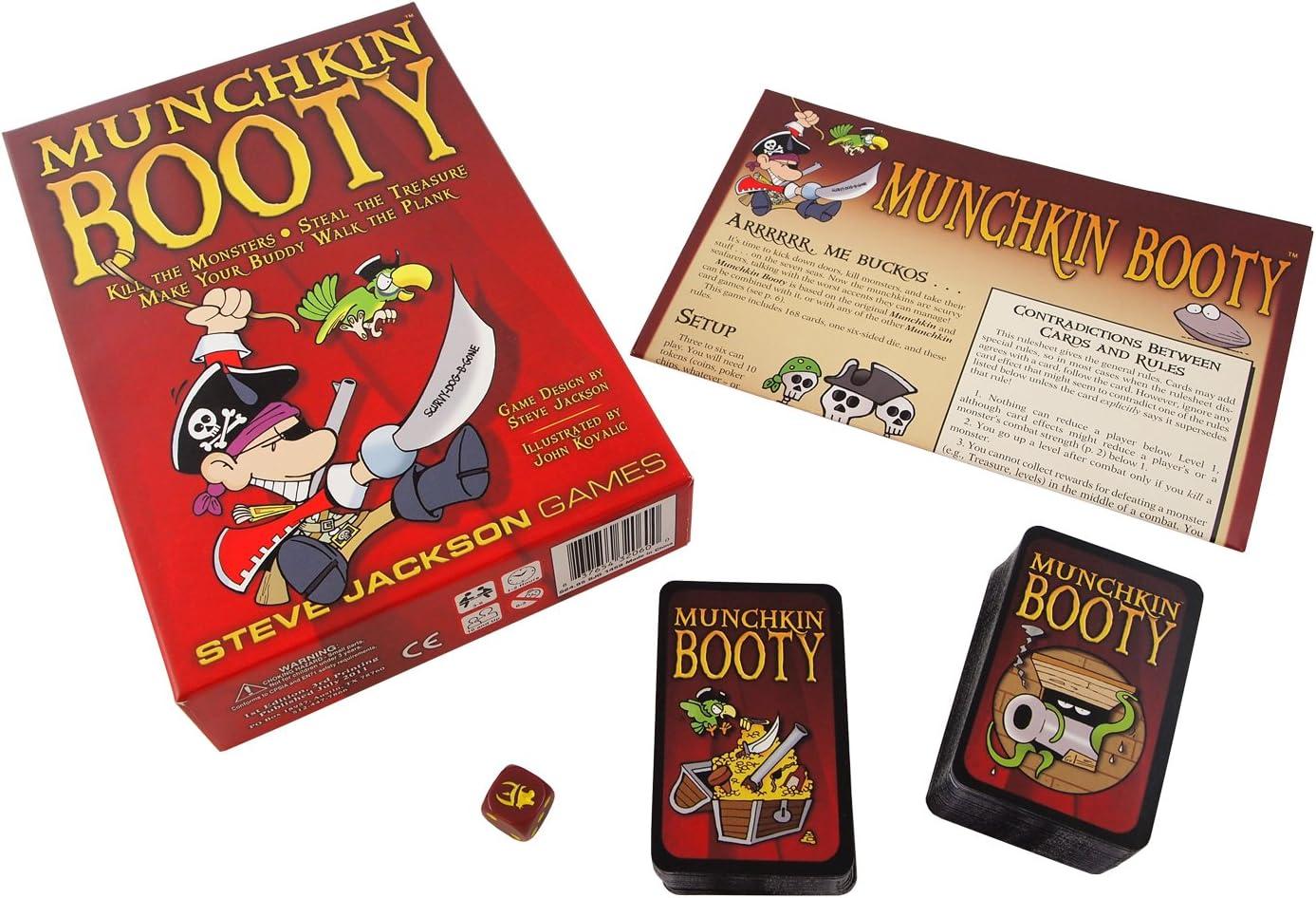 Munchkin Booty Card Game: Steve Jackson Games: Amazon.es: Juguetes y juegos