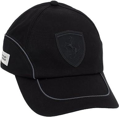 Puma Ferrari - Gorra, diseño de Ferrari Negro Negro Talla:Adultos ...