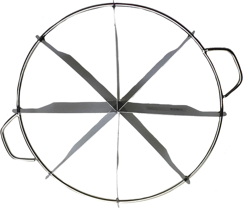 Winco SCU-6 6 Slices Pie Cutter 10-Inch